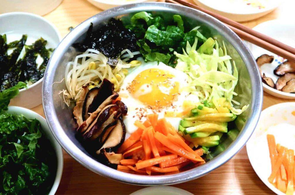 Comida típica de corea del sur